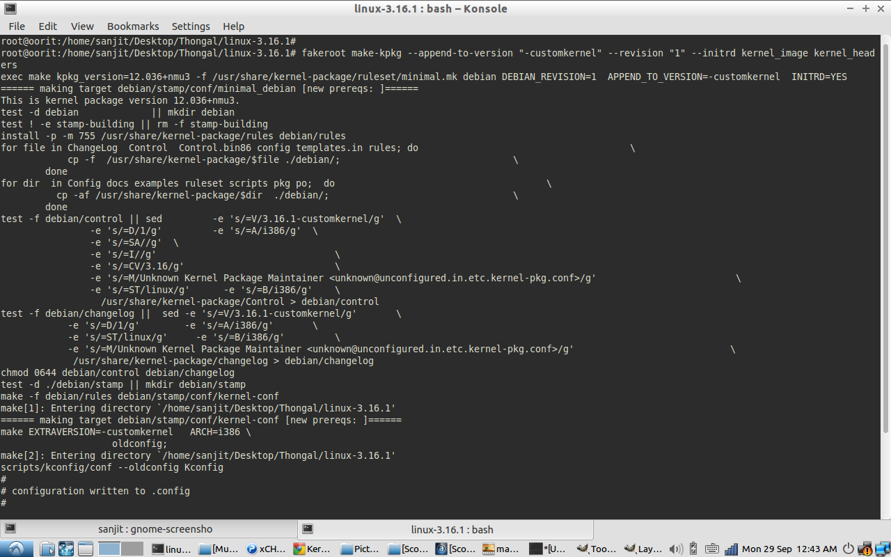 How to Compile the Linux Kernel